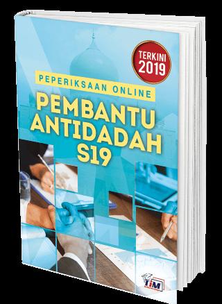 Contoh soalan peperiksaan Online SPA Pembantu Antidadah S19 AADK